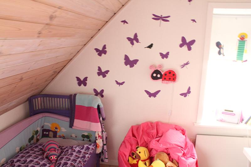 Lilla sommerfugle